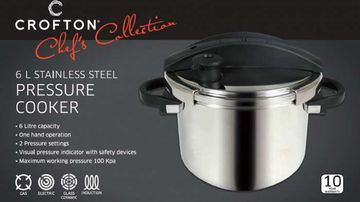 Crofton Chef's Collection 6L Pressure Cooker by H&H Asia was recalled by Aldi back in August. (ALDI)