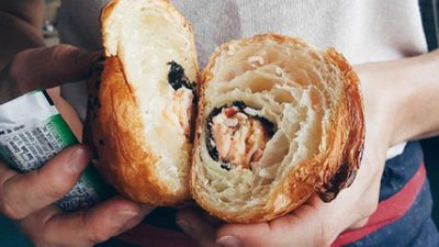 Sushi croissants confuse, repulse the internet