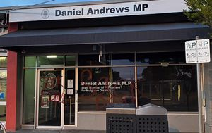 Victorian Premier Daniel Andrews' office vandalised in Noble Park