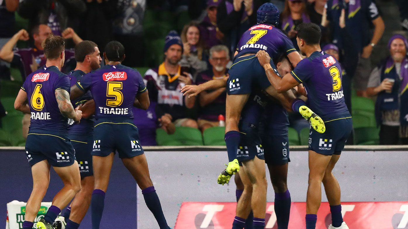 Melbourne Storm's round one win streak is no fluke but doubts over title defence