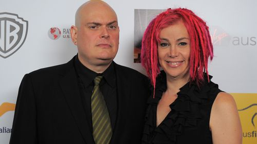 The Wachowskis at the second annual Australians in Film Awards in 2013. (AFP file image)