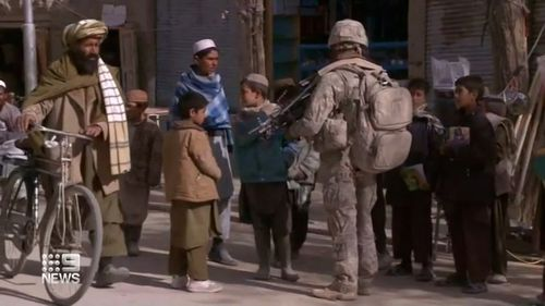 Australian soldier Afghanistan Hennessey