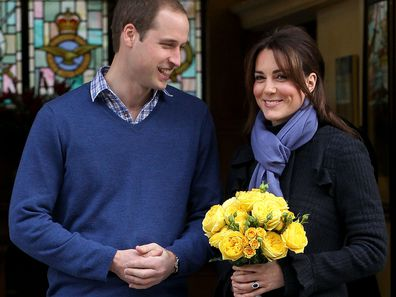 Kate Middleton leaves hospital in 2012 following treatment for hyperemesis gravidarum