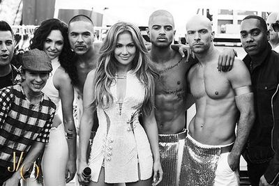 Now THAT is <i>way</I> too much hotness for the one photo.<br/><br/>(Images: @gomillionandleupold via @jlo/Instagram)
