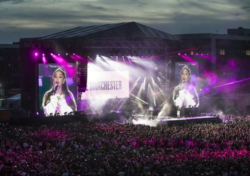 The One Love concert raised more than $13 million for the victims of the Manchester terror attack. (AAP)