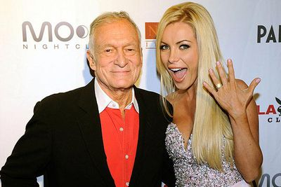 Various reports are calling Hefner and Crystal Harris' whole relationship 'a mere publicity stunt'.