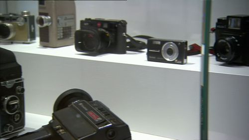 The exhibition shows Ledger's passion for directing and photography. Image: 9News