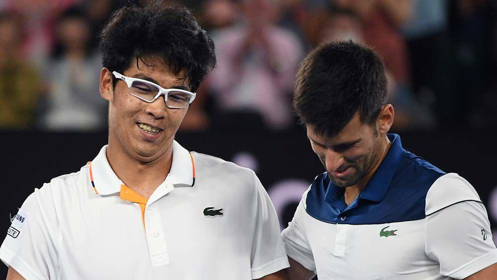 Chung and Djokovic