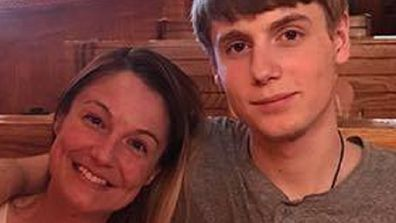 Plasker's son Thomas, 19, died from suicide in 2018.