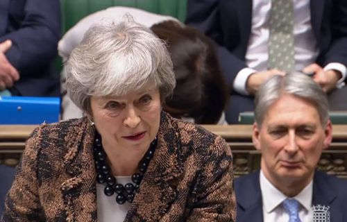 """British PM Theresa May admitted she needed a more """"flexible"""" approach to convince MPs to adopt her Plan B."""