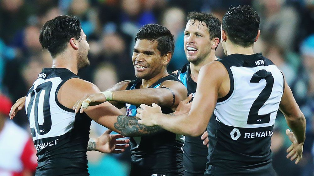 Port sink Brisbane by 40 points in AFL