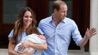 Royal pregnancies: The first glimpse of Prince George