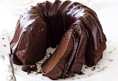 Mum Goodwin's chocolate cake