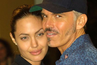 "<p>Age gap: 20 years</p><p>Billy Bob described himself as ""Quasimodo"" when looking back on his relationship with Angelina. They've remained friends since their two-year marriage disintegrated.</p><p>This after their freakish displays of affection and the lockets with each other's blood around their necks.</p>"