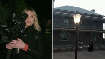 I survived two nights inside Australia's most haunted home