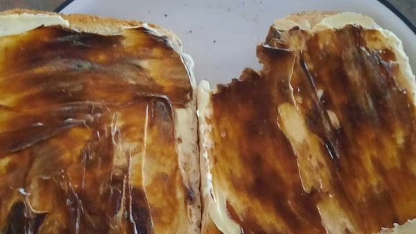 The debate over how to butter Vegemite toast continues