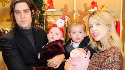 "Peaches Geldof and her husband Thomas Cohen with their two young sons, Astala and Phaedra.  In a statement Cohen said: """"My beloved wife Peaches was adored by myself and her two sons. I shall bring them up with their mother in their hearts everyday."""