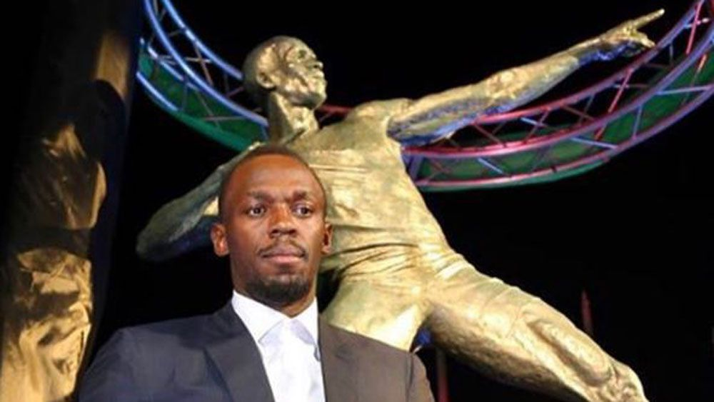 Champion sprinter Usain Bolt overwhelmed by unveiling of statue in Jamaica