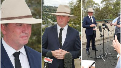 Barnaby gives up the fight