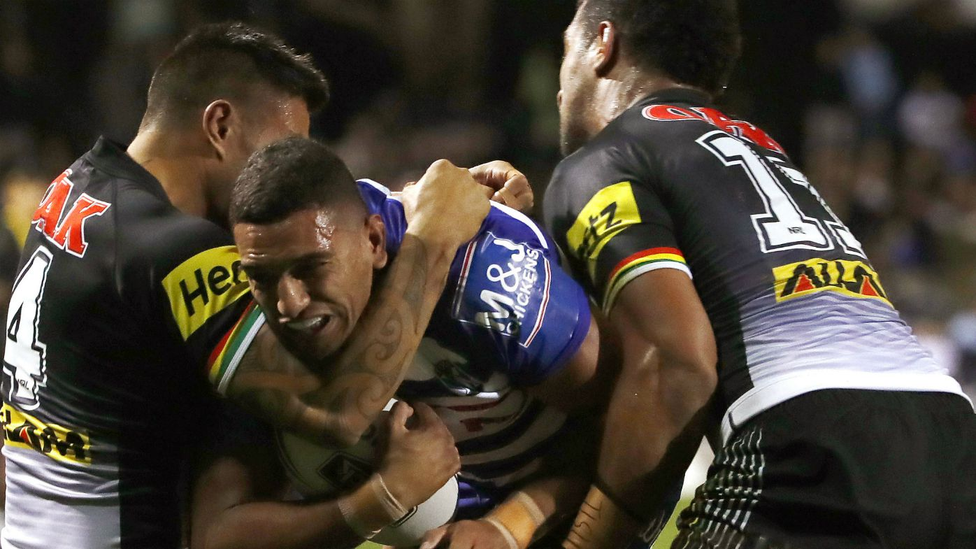 Dean Whare flattens Jeremy Marshall-King with monstrous hit