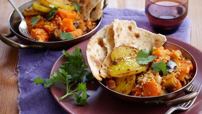 "<a href=""http://kitchen.nine.com.au/2016/05/16/10/29/spiced-potatoes-and-curry-vegetables-for-880"" target=""_top"">Spiced potatoes and curry vegetables<br /> </a>"