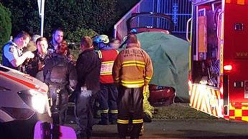 Teen driver dies, two passengers injured in crash in Sydney's West