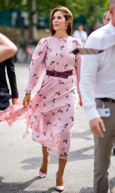 Princess Mary at Fashion Week, August