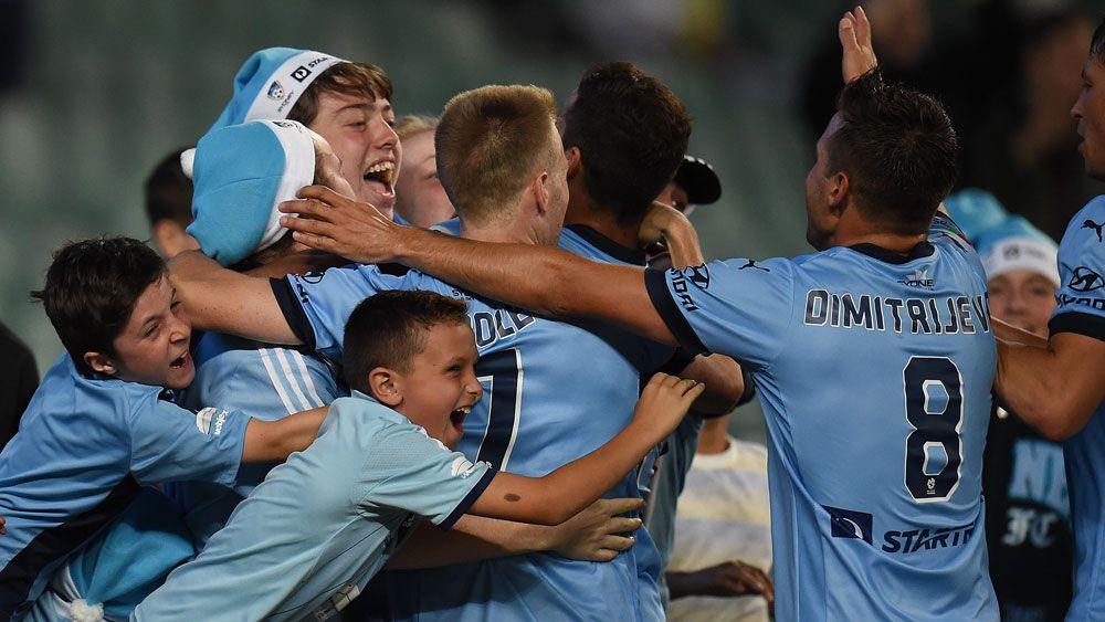 Brosque strikes as Sydney FC ground Jets