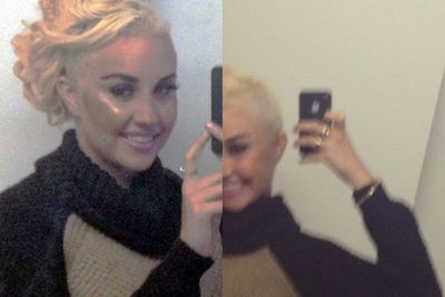 "In late April, Amanda shaved half her hair off. Everyone called it a sign of a Britney-style meltdown, but it only made her look more like another grown-up child star, Miley Cyrus. A few weeks later, Amanda denied having a mental illness to <i>In Touch</i> mag, claiming that only ""ugly"" people say that about her."