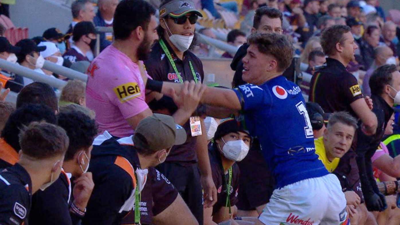 Young Warriors ace Reece Walsh must learn to cool his head as opposition teams target him, legend says