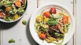 Lola Berry's wish noodles and superfood pesto