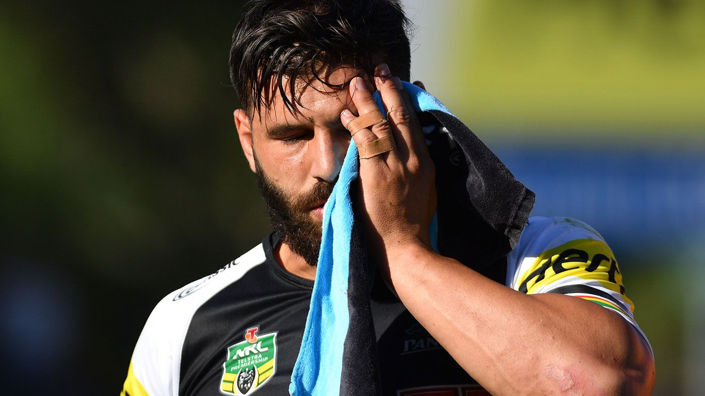 Penrith Panthers winger Josh Mansour reveals extent of horror facial injury