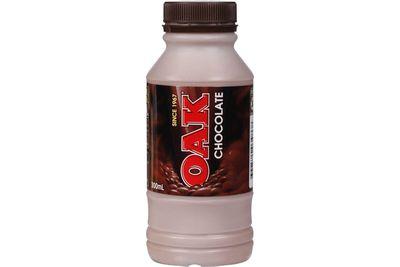 Oak chocolate milk (300ml): 31.8g sugar