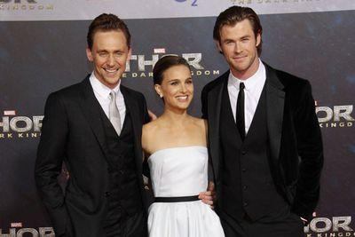 <i>Thor</i> stars Tom Hiddleston, Natalie Portman and Chris Hemsworth.