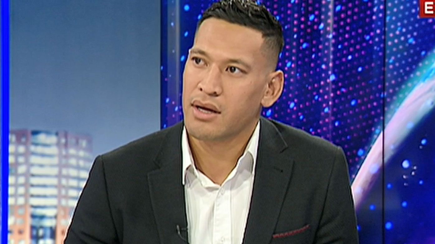 'I've got no hard feelings': Israel Folau opens up on relationship with former teammates amid RA legal battle