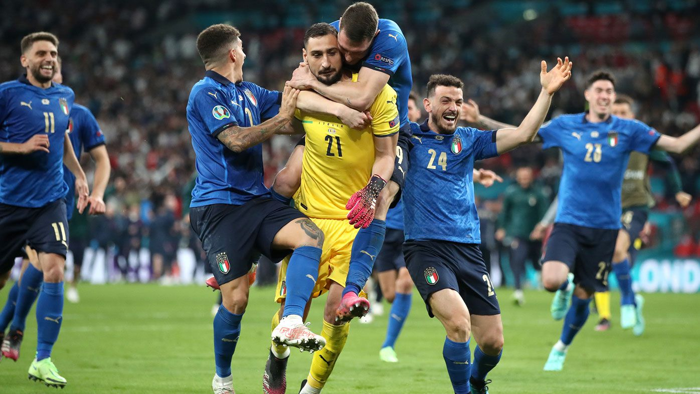 Donnarumma was a giant between the sticks to send Italy to glory.