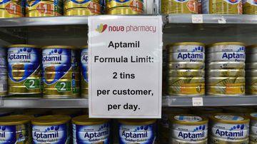 Baby formula. (AAP)