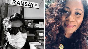 Shareena Clanton has claimed she experienced racist behaviour on the set of Neighbours.