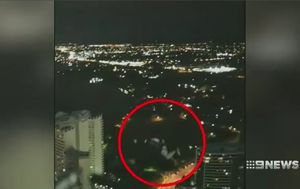 Gold Coast social media personality 'Shammi' films BASE jumper leaping from high-rise building