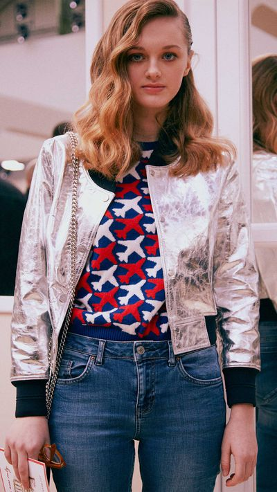 Lily Taieb at Chanel