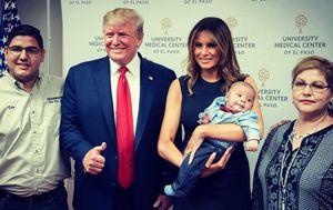 Uncle defends Trump's El Paso orphan photo