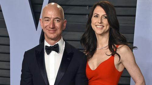 Jeff and Mackenzie Bezos' divorce is the most expensive in history.