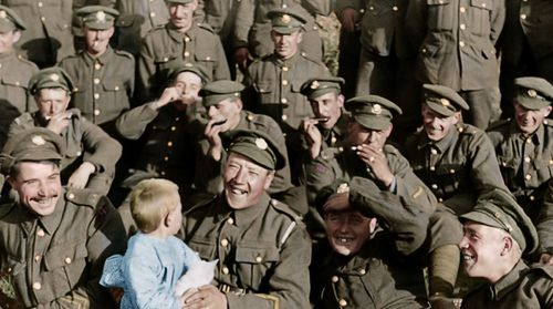 In creating 'They Shall Not Grow Old', Jackson has not only stuck to history and fact, he personally trawled through hundreds of hours of World War One footage.