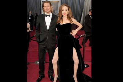 Double leg dose - because one Angelina leg just isn't enough.