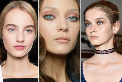On the spring/summer '16 runways we noticed one pretty eye shadow shade kept popping: pink. From Peter Philips' peony eyes at Dior  to the pink-flecked look at Roberto Cavalli – shades of rose ruled again and again. Philips said he picked pink because it's the shade that looked best on all the girls, but you don't need model looks to love this unexpectedly versatile hue.<br /><br />Cream shadows are practically fool proof when applying pink – they smooth on seamlessly with fingers – while slightly shimmery formulas are easier to pull off than mattes, which are often trickier to blend. Using an eye shadow primer will keep colour punchy and put. To finish, steal Philips' trick of pairing pinks with brown or burgundy mascara, which aren't as harsh as classic black.&nbsp;