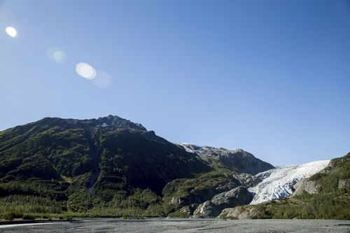 FILE - This Tuesday, Sept. 1, 2015 file photo shows the Exit Glacier in Seward, Alaska, which according to National Park Service research has retreated approximately 1.25 miles over the past 200 years. Since 2000, Alaskas Exit Glacier has lost more than 715 million tons (650 million metric tons) of snow and ice, with more than 380 million tons (350 million metric tons) since 2010. According to a study released on Wednesday, April 28, 2021 in the journal Nature, the world's 220,000 glaciers are m