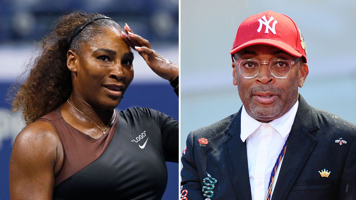 Spike Lee has compared Serena Williams to sporting legends Muhammad Ali and Michael Jordan
