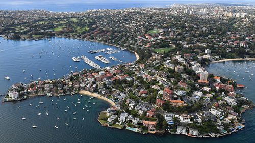 Sydney was hit hardest by the decrease, with prices down 1.2 percent. Picture: 9NEWS.