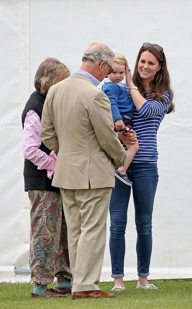 Prince Charles is a doting grandfather to his five grandchildren.