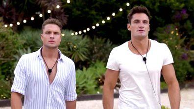 Love Island Australia 2021 Mitch and Chris
